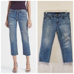 Banana Republic Premium Girlfriend Jeans Size 27P